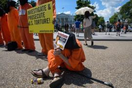 Former Guantanamo detainees have tried to seek justice in a US court [AFP/Getty Images]