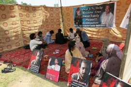 Baloch activists say thousands of people have gone missing in the province [Asad Hashim/Al Jazeera]