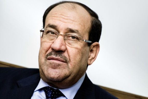 Kurdish and Sunni groups are demanding that Nouri al-Maliki step down from his post as Iraq's prime minister [AP]
