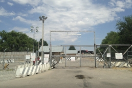 On July 11, the US officially vacated its lease at Kyrgyzstan's Manas Transit Centre [Casey Michel/Al Jazeera]