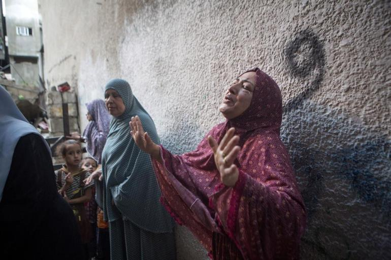 At least 39 Palestinian children have been killed since the start of the operation in Gaza.