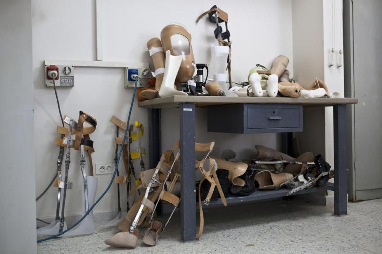 The Nabih Berri Rehabilitation Compound, run by LWAH, is a medical centre that provides rehabilitation therapy and also houses a prosthetic limb workshop.