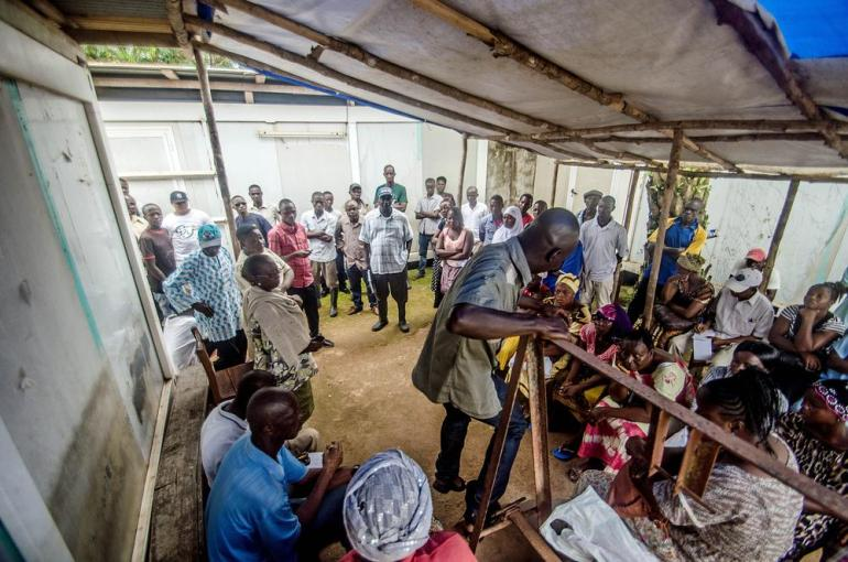 When Al Jazeera visited the hospital in Kenema, the workers from the Ebola ward were on strike over pay and bonuses.