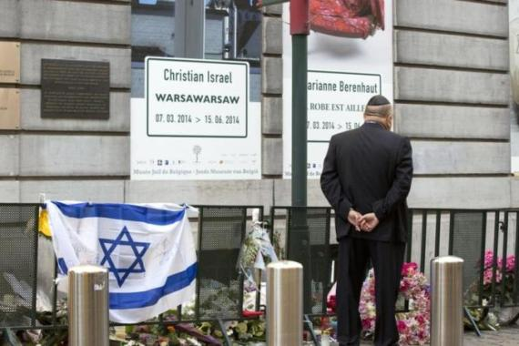 The shooting - the first such attack in Brussels in 30 years - raised fears of a return of anti-Semitic violence [AP]
