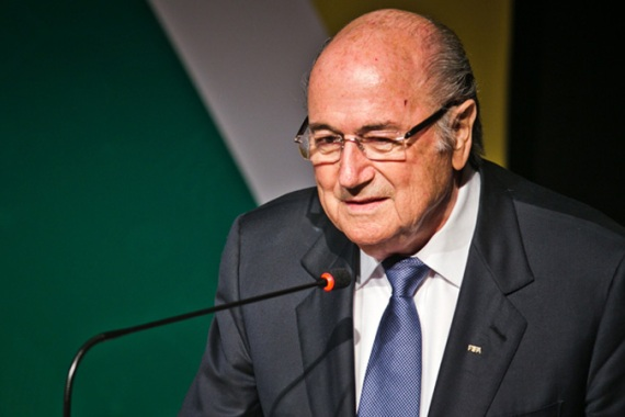 Blatter's compliments were welcomed with applause from officials in Rio de Janeiro [Thiago Dezan/M?dia NINJA]