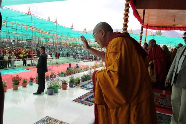 The Dalai Lama has long been calling for Tibet to be given autonomy to preserve its culture and religion, rather than full independence from China.