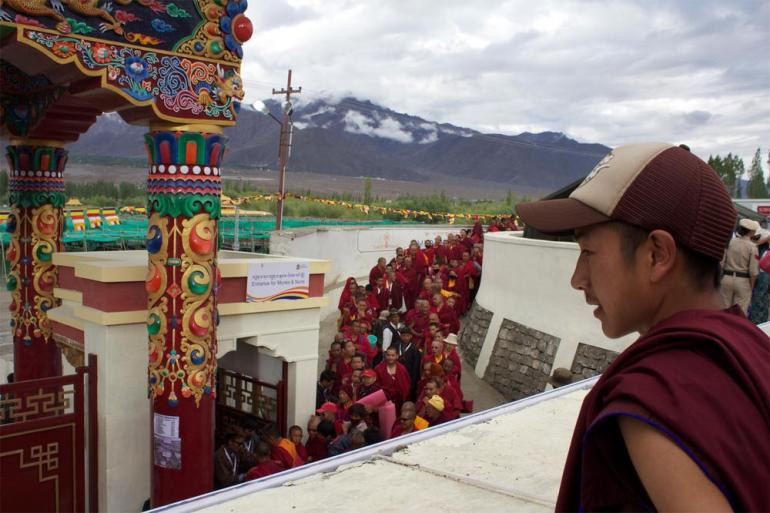 Ladakh Buddhist Association President Dr Tondup Tsewang told Al Jazeera that the Kalachakra was of great importance to the region, which is home to numerous Tibetan refugees.