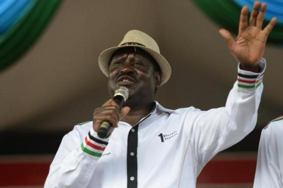 Raila the current opposition leader ran for the country's top political seat three times [AFP]