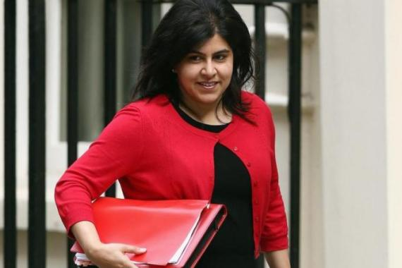 Baroness Warsi tweeted she could no longer support the government's policy in Gaza [Getty Images]