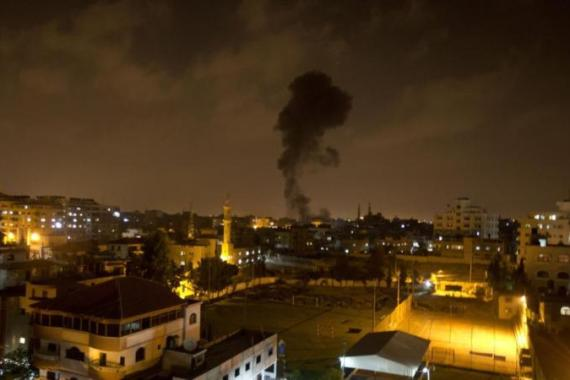Aerial strikes by the Israeli military have taken the lives of more than 160 Palestinians in Gaza [AFP/Getty Images]