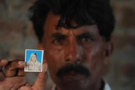 Farzana Parveen was beaten to death with bricks by her father and other family members for marrying a man of her own choice [AFP]