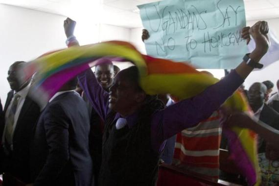 Homosexuality is a taboo issue in much of Africa and illegal in 37 countries on the continent [EPA]