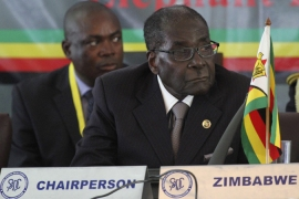 Mugabe has been in power for 34 years and won a disputed election last year [Reuters]