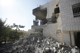 Israeli forces demolished 664 Palestinian homes as punishment between 2001 and January 2005 [Reuters]