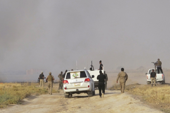 Tikrit fell to Islamic State fighters on June 11 as the group advanced in Iraq's north [Reuters]
