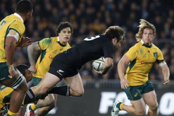 The All Blacks were held to a 12-12 draw in Sydney last week [Reuters]