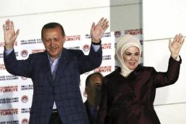 Turkish President Recep Erdogan recently angered women's rights activists by saying that women and men are not equal [AP]