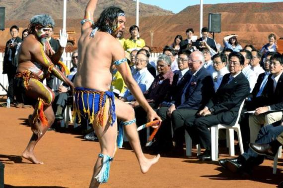 In Australia, Aboriginal and Torres Strait Islanders make up only 3 percent of the total population [AP]