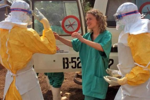 The outbreak that began in Guinea in early 2014 is the first among humans in West Africa [MSF]