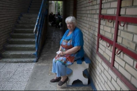 Ukraine's displaced: 'We want to go home'