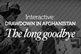 Interactive: Drawdown in Afghanistan