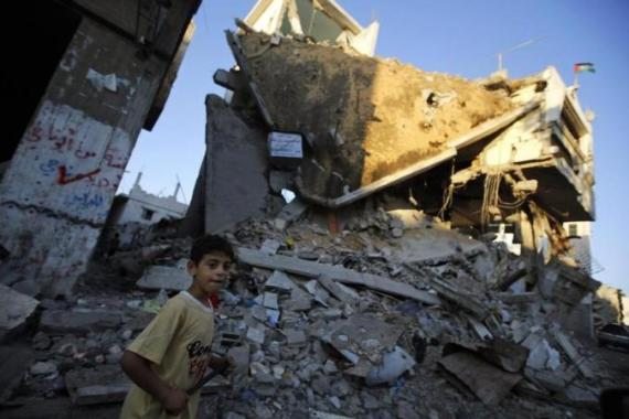 The inter-Palestinian Cairo talks is expected to focus on who will be in charge of Gaza's reconstruction efforts [EPA]