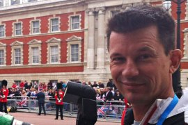 Briton John Cantlie is being held captive by ISIL, along with more than a dozen Syrian journalists [Getty Images]