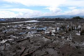 <p>A year after the fighting, the village of Mariki remains off limits for civilians.</p>