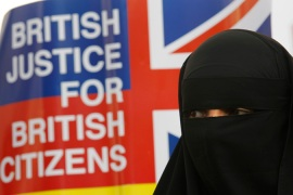 UK Muslims fear the repeal of the Human Rights Act will increase state harassment of their community [Reuters]