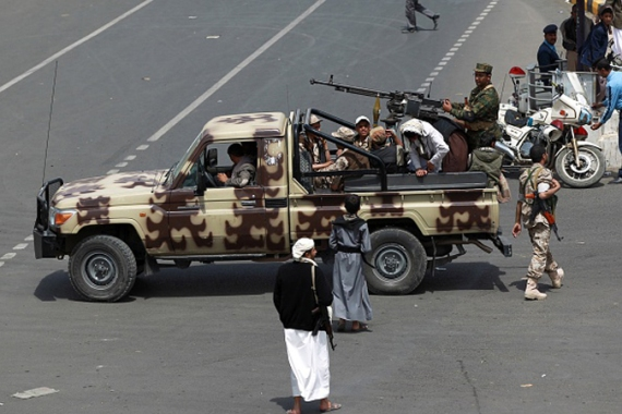 The Houthis took over Sanaa in a lightning assault last month [AFP/Getty Images]