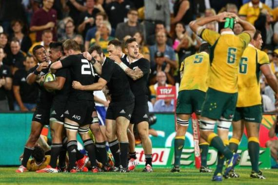 The All Blacks had lost to South Africa two weeks ago [Getty Images]