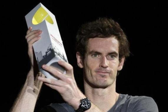 Murray became only the fifth active player with 30 or more titles [EPA]