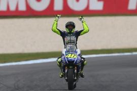 Rossi sits second on the table with Marquez having already claimed the world title [Getty Images]