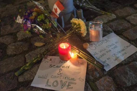 Few Canadians believed the country was somehow immune to politically-inspired terrorism, writes Brynen [AP]