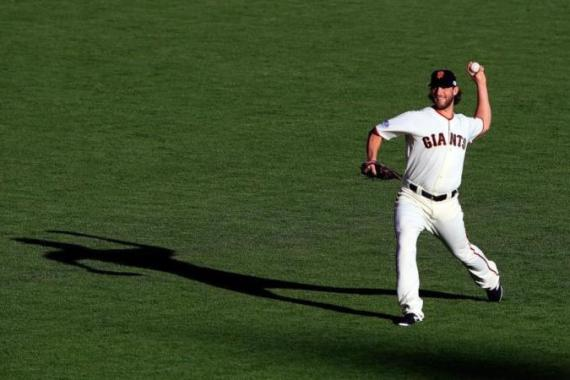 Bumgarner is the first pitcher with a complete-game shutout in the World Series since 2003 [Getty Images]