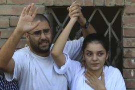 Alaa and sister Sanaa are among thousands thrown in jail for defying a law barring unauthorised protests [AP]