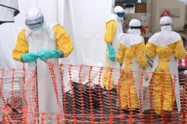 The WHO has been rushing to help organise bed spaces to take care of Ebola patients in treatment centres [AFP]