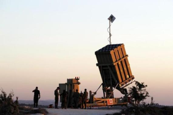 Israel's army says the 'Iron Dome' system shot down 735 rockets during its summer offensive against Gaza [Reuters]