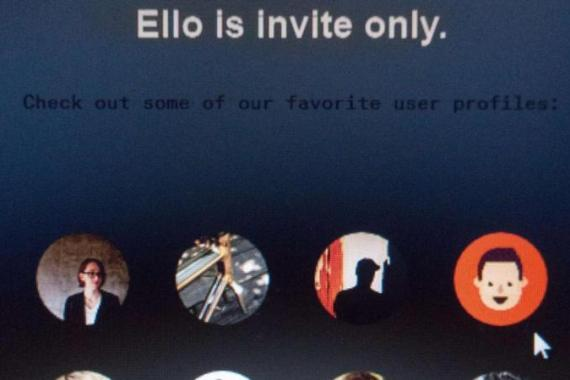 Ello promises a less creepy business model, writes Hind [AFP]