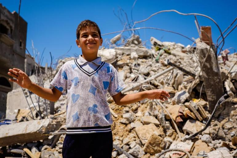 Many children in Gaza have become cautious and suspicious of strangers.