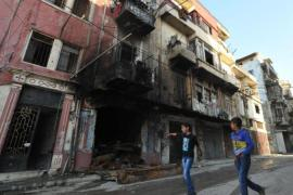 Violence in Tripoli spread to the souq - on the shortlist for possible nomination as a UNESCO world heritage site [AFP]
