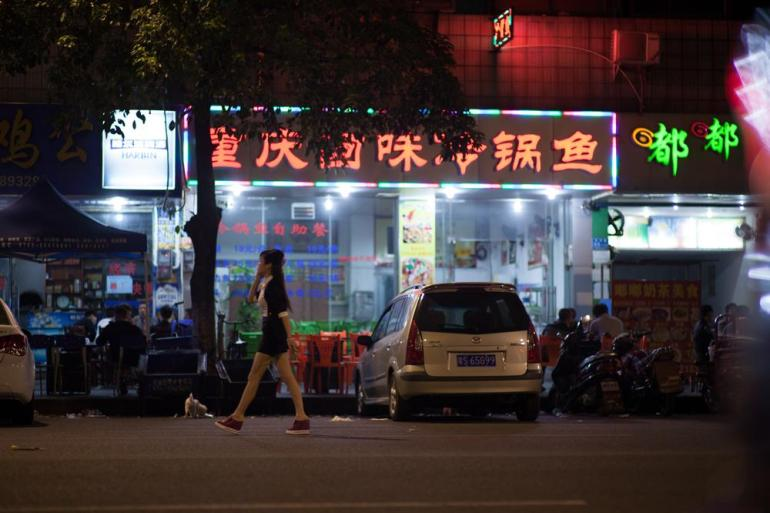 The sex industry has been more developed in Dongguan than in other Chinese cities.