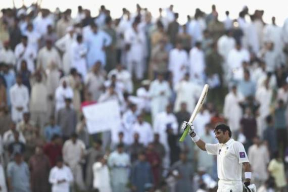 Misbah's half-century came off just 21 balls and his ton off 56 deliveries [Getty Images]