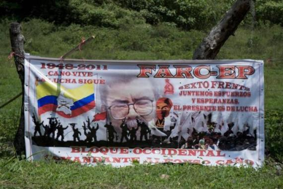 With an estimated 8,000 fighters, the FARC is the largest rebel group active in the conflict [AFP]