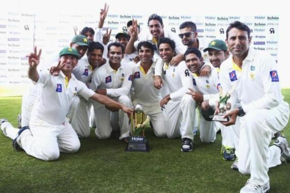 Pakistan's last Test series win was also a whitewash in the UAE, against England in 2012 [Getty Images]