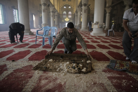 Jordan blames Israeli police actions for damage to al-Aqsa Mosque ceilings, carpets and other facilities [Reuters]