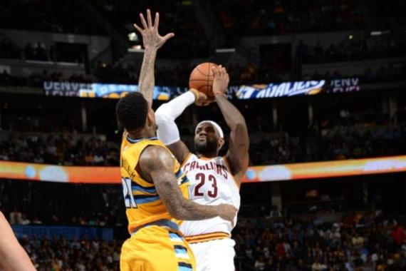 LeBron's efforts helped Cavaliers avoid a third successive loss [Getty Images]