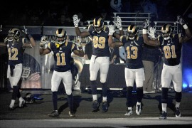 St. Louis police want football players to apologise for Ferguson protest