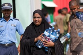 Reports of 'racism' during Maldives' #MaleWaterCrisis