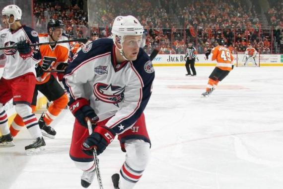 Connauton's goal was his first for the Blue Jackets [Getty Images]